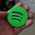 Spotify 3D logo image