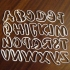 Alphabet cookie cutter 70 mm high primary image