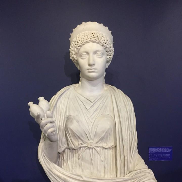 Domitia as Demeter