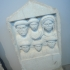 Funerary stele with six portraits image