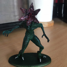 Picture of print of Stranger Things' demogorgon