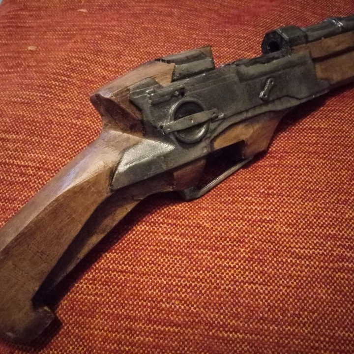 Picture of print of Dishonored - Pistol This print has been uploaded by Alberto Fernández vega