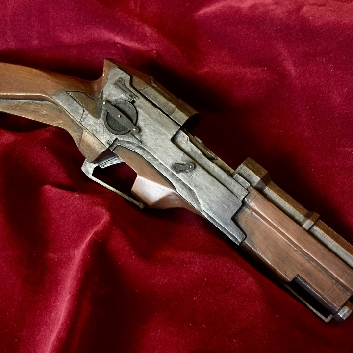 Picture of print of Dishonored - Pistol This print has been uploaded by Jonathon McCormack