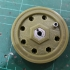 MB Jeep Wheel and Tyre 1/6 1/7 scale (133% of original) image