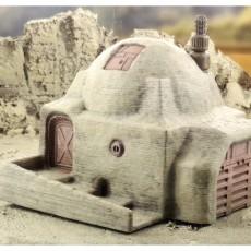 Desert Sci-Fi Buildings