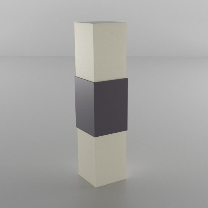 Modern Square Lamp