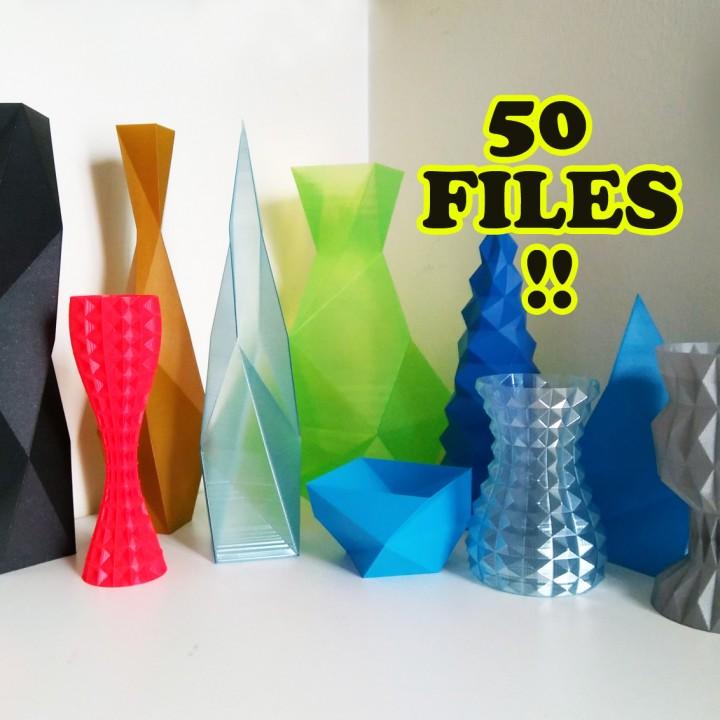 Vasemania: Low poly vases