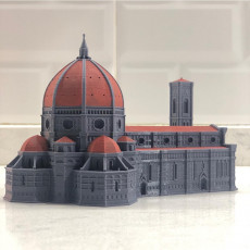Picture of print of Multi-Color Florence Il Duomo Cathedral