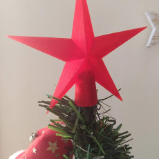 Picture of print of CHRISTMAS STAR TREE TOPPER