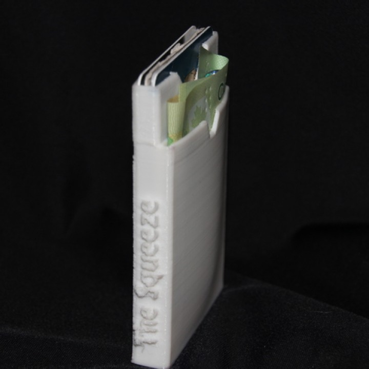 The Squeeze - A Slim, Flexible, Wallet