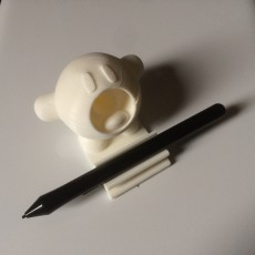 Kirby pen holder