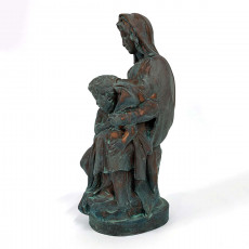 Picture of print of Madonna of Bruges