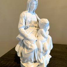 Picture of print of Madonna of Bruges This print has been uploaded by Rick Norris