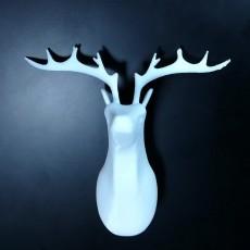 Reindeer bust