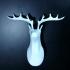 Reindeer bust image