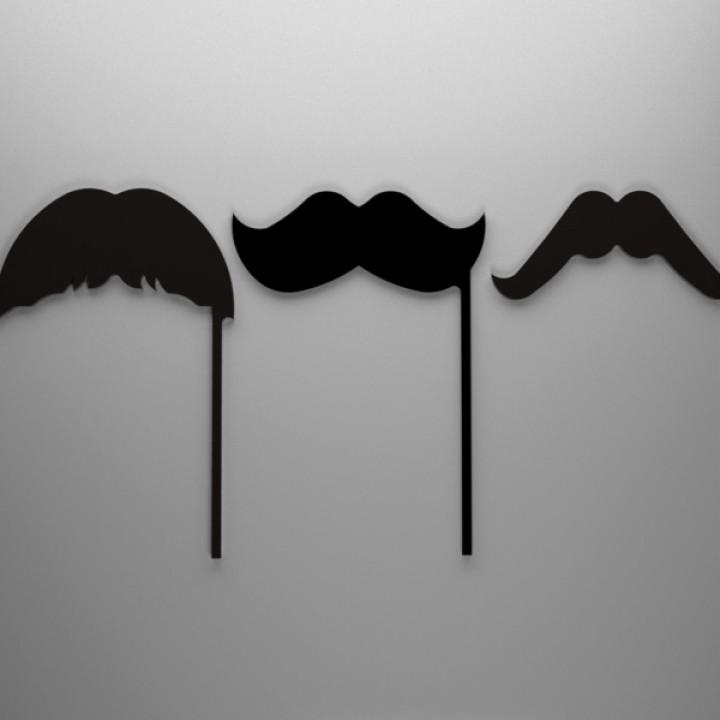 Moustache - Movember - Parametric/Configurator