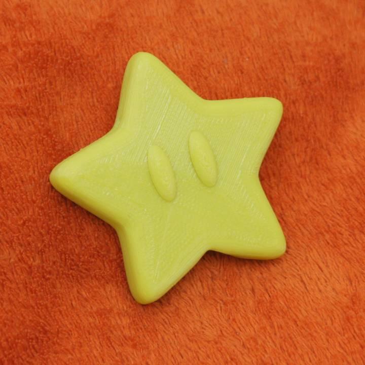 Mario star for XMAS tree