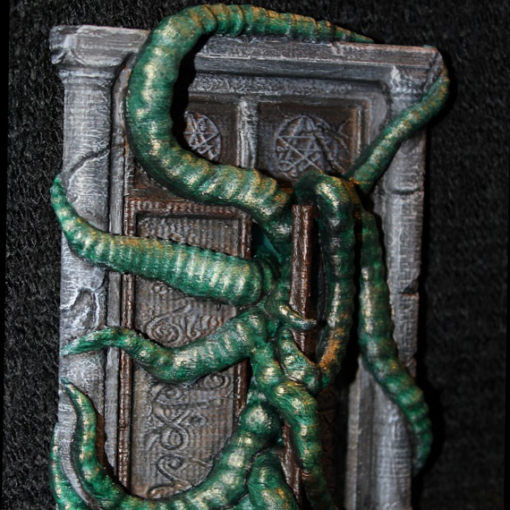 Picture of print of Cthulhu Gate This print has been uploaded by Sarah Bonczek-Simpson