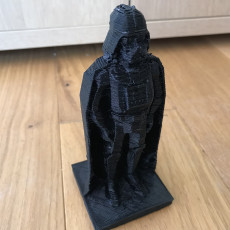 Picture of print of Darth Vader ornament