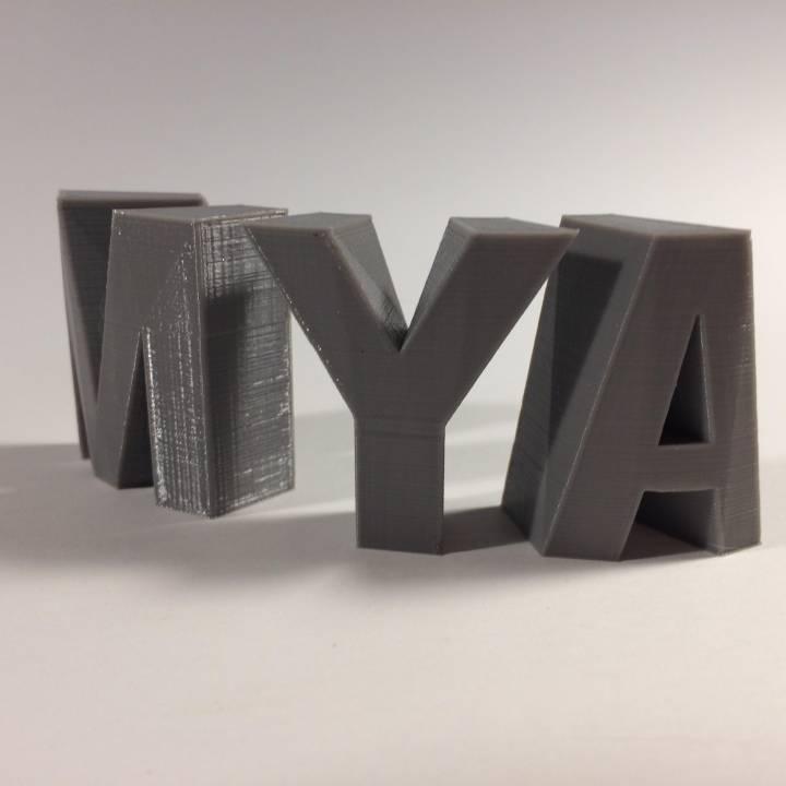 MYA Sculpture