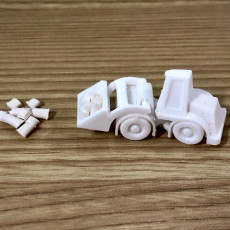 Picture of print of Surprise Egg #3 - Tiny Wheel Loader Toy Этот принт был загружен planetehack