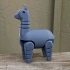 Alpaca (movable legs) print image