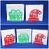 Christmas napkin holder image