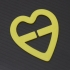 Bra Clip - Heart Shape image