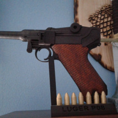 Picture of print of luger modified