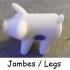 PASS THE PIGS - JEU DES PETITS COCHONS image