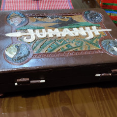 Picture of print of Jumanji Game Board