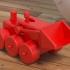 Mechanical toy shovel image