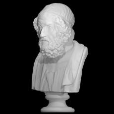 Portrait of Homer, Blind type