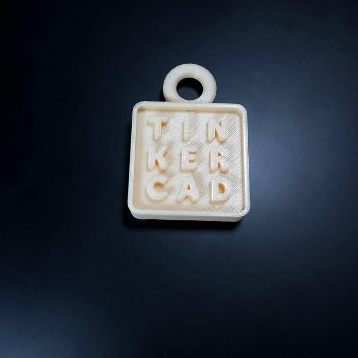 TinkerCAD ornament