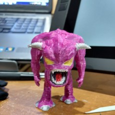 Picture of print of Pinky Demon - Doom