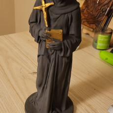 Picture of print of St Francis of Assisi