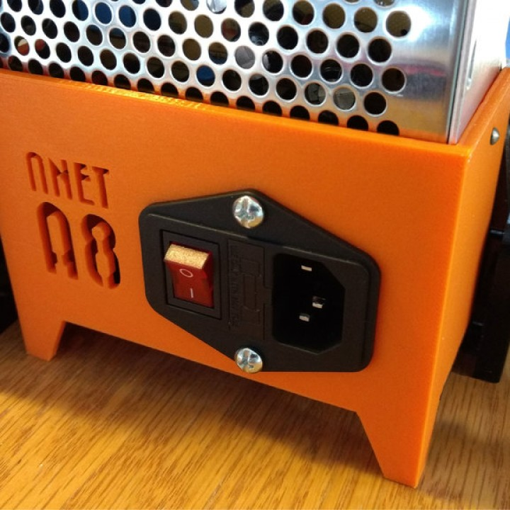 Anet A8 - Power Supply Cover with Switch