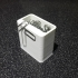 Paper clip box with magnet image