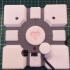 Companion Cube Speaker Box or a detailed model of a companion cube image