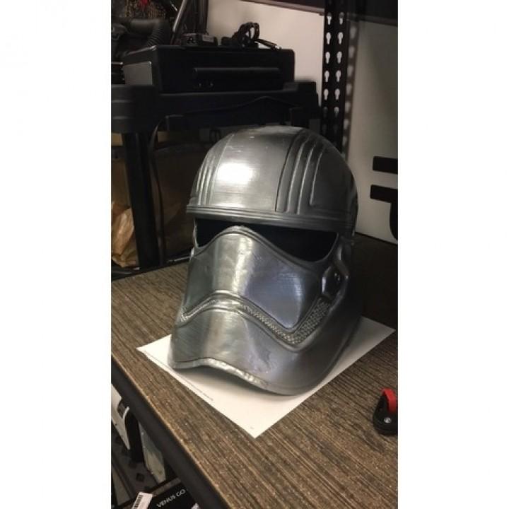 Wearable Captain Phasma Helmet