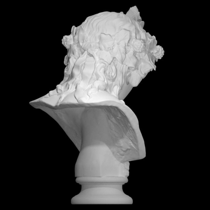 Bust of Antinous as Dionysus