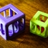 Caged Tetrahedron Puzzle image