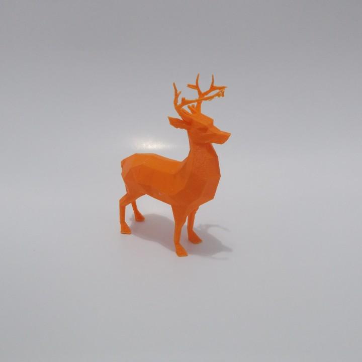 Low Poly Reindeer