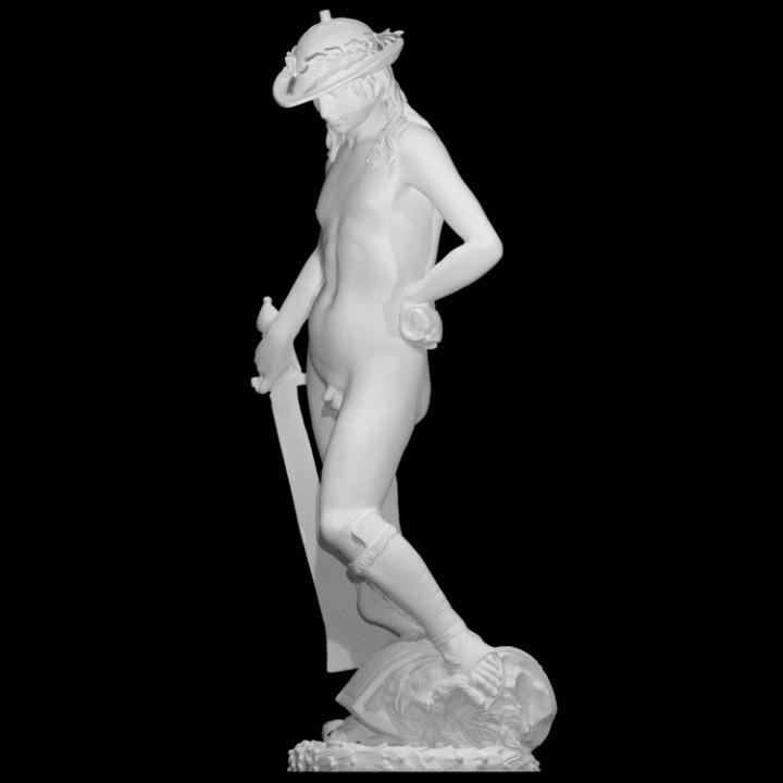 Donatello's David With the Head of Goliath