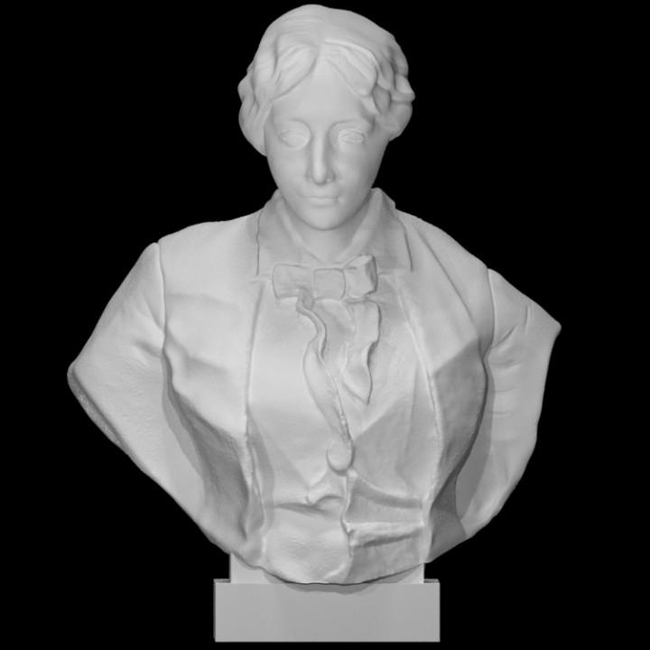 Bust of Louisa May Alcott