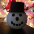 Snowman with Hat image