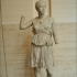 A statue of a girl in the role of Artemis image