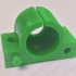 LM8UU-Style Bearing / Bushing Holder (Friction Hold / 2 Part) (Endstop Compatible) image