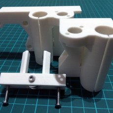X Axis Motor Mount and Idler - Angular Style