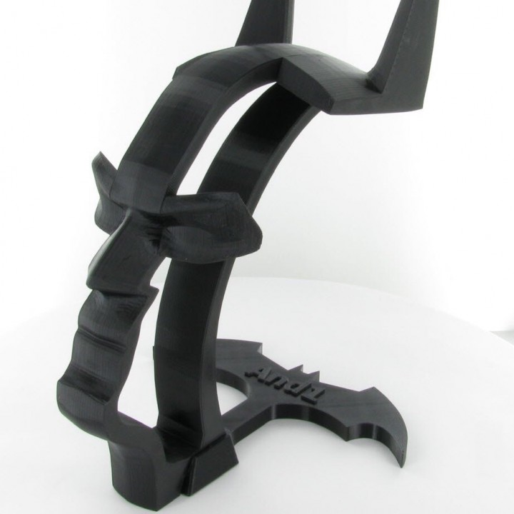 Batman Ground for Headset stand